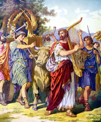 I Am Coming Soon David Fetches The Ark Of Jehovah From